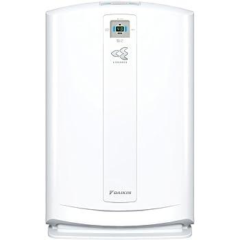 ダイキン PM2.5対応加湿空気清浄機(空清31畳まで/加湿18畳まで ホワイト)DAIKIN うるおい 光クリエール MCK70N-W