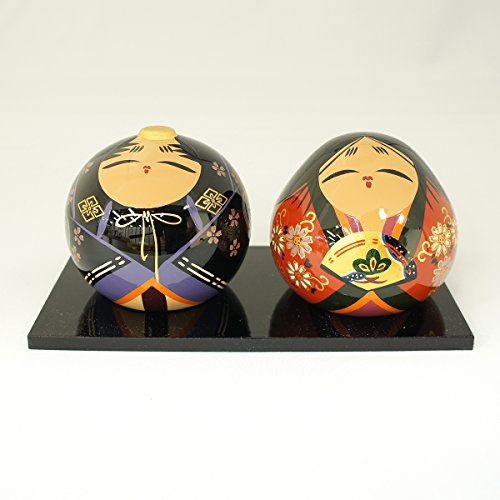 【中村民芸社】大内塗 大内人形 ペアセット NO-7 桐箱入り【OU-NO-7】