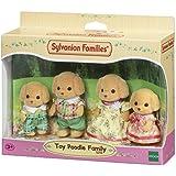 Sylvanian Families Toy Poodle Family,Figures