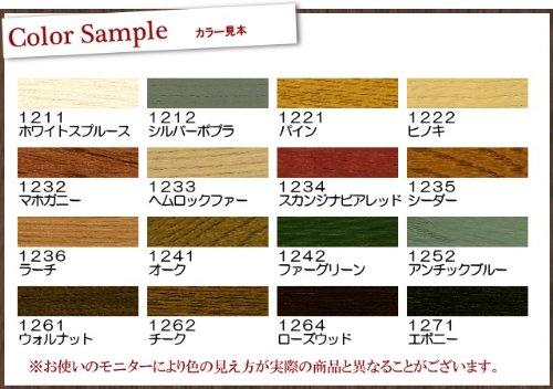 日本オスモ オスモカラー ワンコートオンリー #1234スカンジナビアレッド 0.75L [半透明着色ツヤ消し]