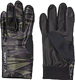 adidas(アディダス) 野球 手袋 5Tウォームグローブ DUU78 コアレッド S17/ナイトメット F13(CF5115) L