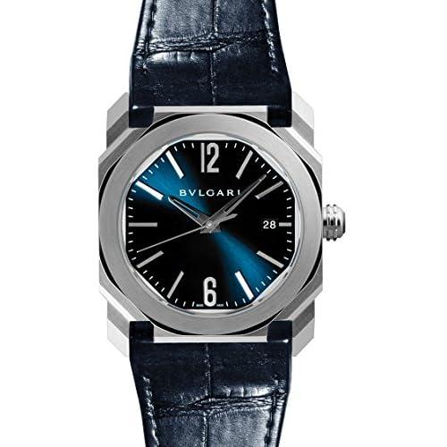 [ブルガリ] BVLGARI 腕時計 オクト ソロテンポ ブルー BGO38C3SLD メンズ 新品 [並行輸入品]