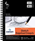 "Canson Universal Spiral Sketch Book 9""X12""-100 Sheets (並行輸入品)"