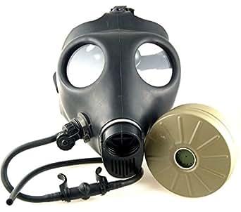 ガスマスク イスラエル軍仕様 NBC(核/生物/化学)対応NATO標準40mmフィルタ+ドリンクチューブ付き [並行輸入品]