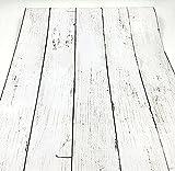 PEGAZOU(ペガ蔵) はがせる壁紙 壁紙シール 北欧風 アンティーク 木目 白 45cm×10m DIY