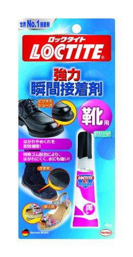 LOCTITE(ロックタイト) 強力瞬間接着剤 靴用 4g LKR-004