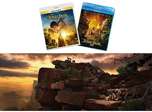 【Amazon.co.jp限定】 ジャングル・ブック MovieNEXプラス3D:オンライン予約限定商品 [ブルーレイ3D+ブルーレイ+DVD+デジタルコピー(クラウド対応)+MovieNEXワールド](オリジナルワイドポスター付) [Blu-ray]の詳細を見る