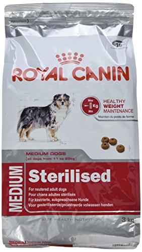 ロイヤルカナン SHN ミディアムステアライズド 犬用 3kg