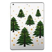 第5世代 iPad iPad5 2017年モデル スキンシール apple アップル アイパッド A1822 A1823 タブレット tablet シール ステッカー ケース 保護シール 背面 人気 単品 おしゃれ クリスマス ツリー 013723