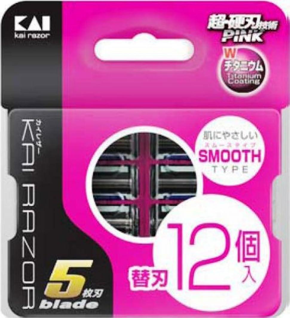 キロメートル製造業好奇心カイレザー 5枚替刃 12P
