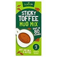 Bakedin Sticky Toffee Mug Cake Mix 3 x 45g - (BakedIn) スティッキートフィーマグカップケーキミックス3×45グラム [並行輸入品]