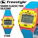 FREESTYLE SHARK CLASSIC TIDE SILICONE CYAN/YELLOW FS101841 フリースタイル 腕時計 シャーク クラッシック タイド シリコン シアン/イエロー