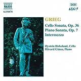 グリーグ:チェロソナタ Op. 36/ピアノ・ソナタ Op. 7