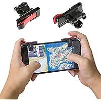Funtoget 1ペア 電話 ゲームパッド ジョイスティック トリガー 火ボタン PivG Games ナイフ Aim Shot コントローラ