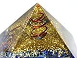 ☆高品質☆【置き石】ピラミッド オルゴナイト レイキマントラシンボル (約50〜60mm) ラピスラズリ【石流通センター】天然石 パワーストーン