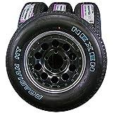 15インチ 4本セット タイヤ&ホイール NEXEN (ネクセン) ROADIAN H/T (ローディアンHT) SUV 215/75R15 マットブラックホイール 15×6J(-7)139.7-5H
