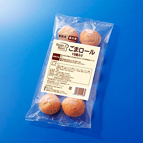 【冷凍】 業務用 テーブルマーク ごまロール 約24g×10個入り 冷凍 ごま ロールパン