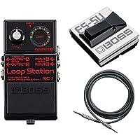 【フットスイッチ/FS-5U+接続ケーブル付】BOSS ボス RC-1-BK Loop station