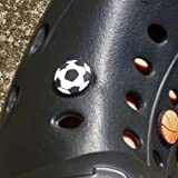 サッカー グラシアス サンダルアクセサリー クロックス ジビッツ サッカーボール 1個
