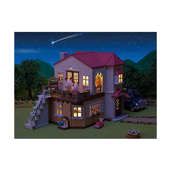 シルバニアファミリー お家 赤い屋根の大きなお...の紹介画像5
