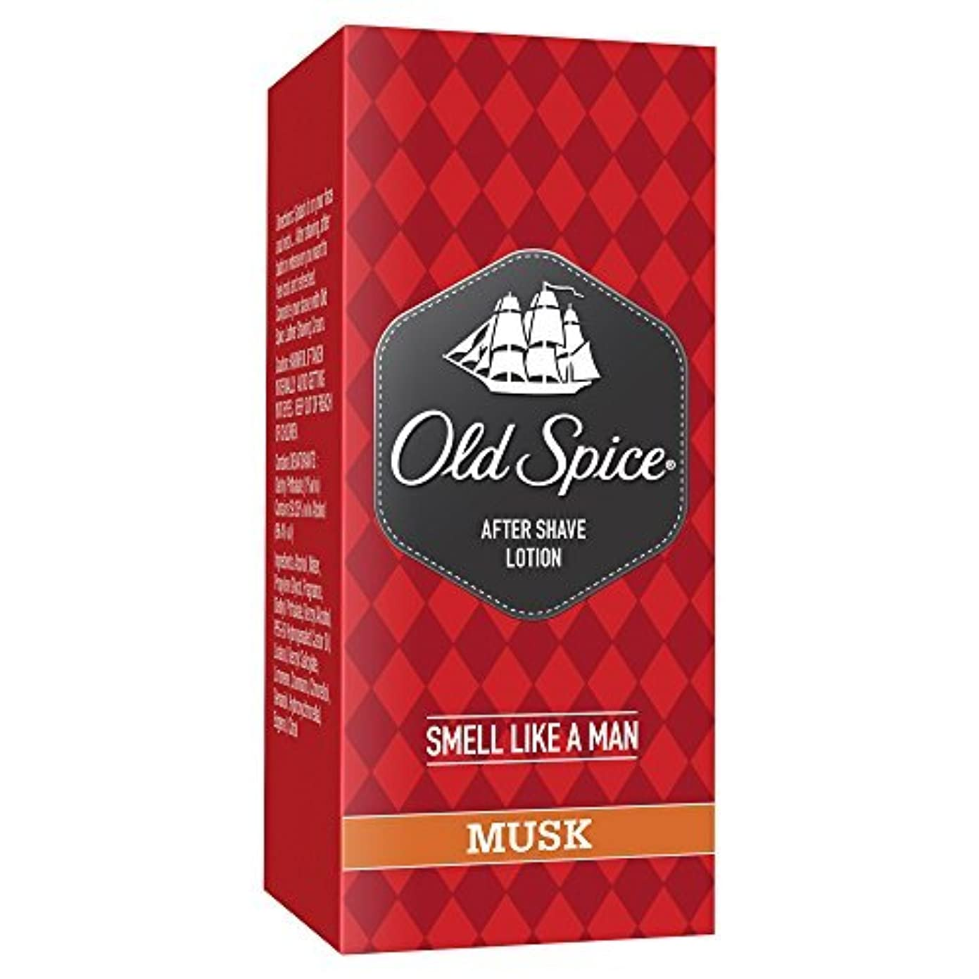 四面体不安定な主要なOld Spice Aftershave Musk 150 ml by Old Spice