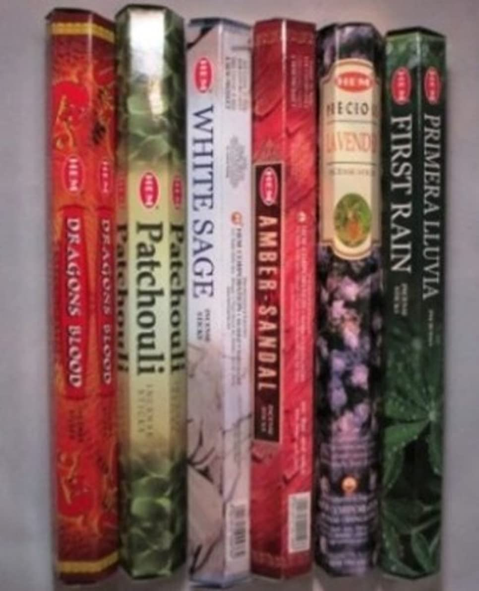 しおれた特異性作ります5 HEM Incense Variety Pack - Classics