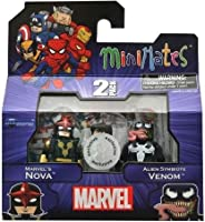 Marvel Minimates Series 17 Nova and Alien Venom Exclusive [並行輸入品]