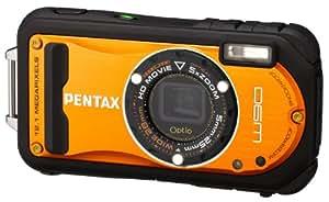 PENTAX 防水デジタルカメラ Optio W90 シャイニーオレンジ OPTIOW90SO