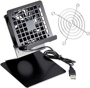 タイムリー スマートホン / タブレット / スイッチ 用 クーラースタンド [ BIGFAN80U (80mm角USBファン) 搭載 ] BIGFAN80U-STANDY