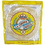 フラワートルティーヤ ラ・コロナ(タコス用生地) 8インチ(20cm)×8枚 LA CORONA TORTILLAS