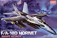 F / A - 18Hornet Night Attack 2Seater 1/ 32Academy