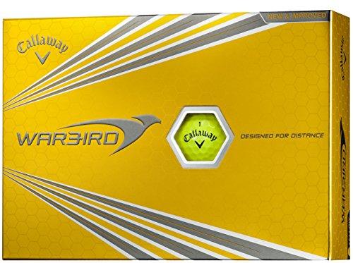 Callaway(キャロウェイ) ゴルフボール WARBIRD ゴルフボール ボールカラーイエロー 12個入り メンズ 6421554120044 イエロー