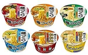 マルちゃん 麺づくり 6種類 各2個 12食 (鶏ガラ醤油・合わせ味噌・濃厚豚骨・鶏だし塩・担担麺・醤油とんこつ)
