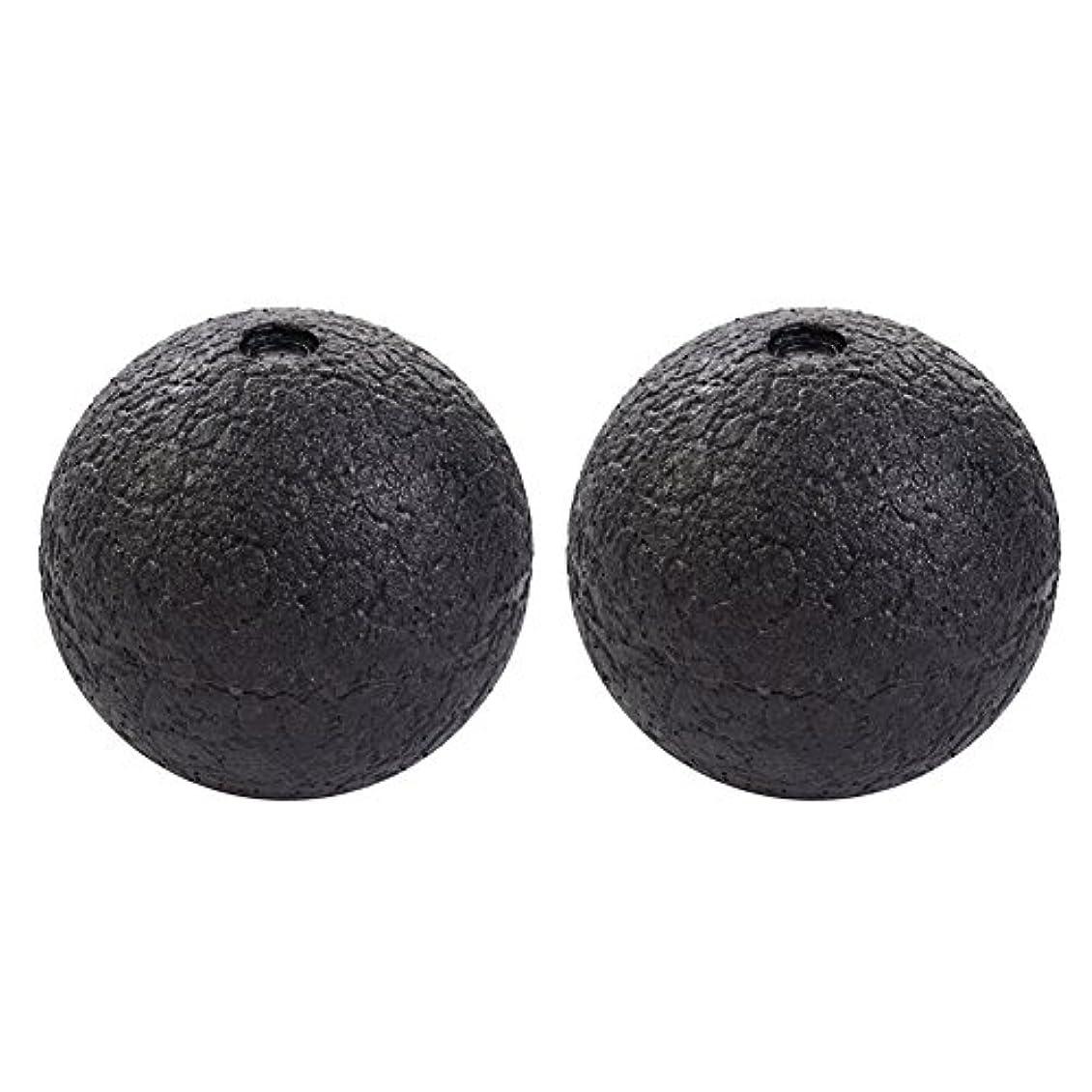 Hjuns マッサージボール筋膜ストレス消除 スマホ病 直径10cm/8cm PCやり過ぎ つらい腰痛 肩こり 足裏マッサージにストレッチボール 2個セット