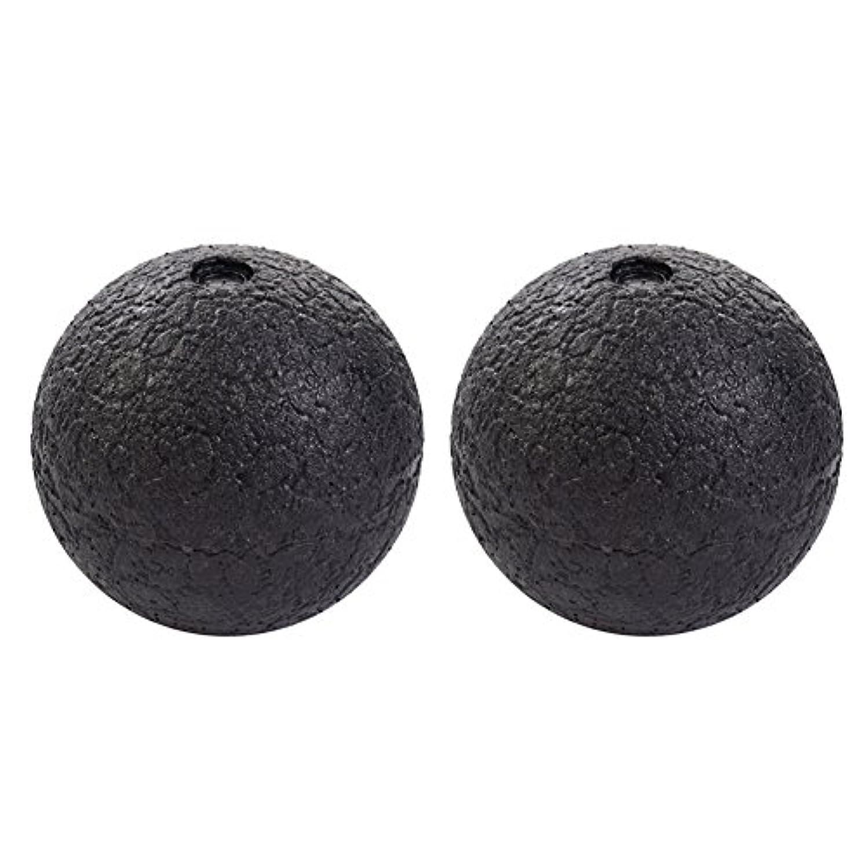 ソフィー月これらHjuns マッサージボール筋膜ストレス消除 スマホ病 直径10cm/8cm PCやり過ぎ つらい腰痛 肩こり 足裏マッサージにストレッチボール 2個セット
