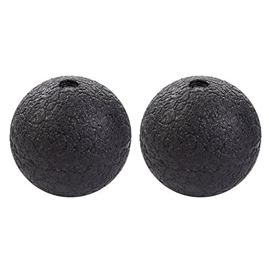 発音するほとんどないアピールHjuns マッサージボール筋膜ストレス消除 スマホ病 直径10cm/8cm PCやり過ぎ つらい腰痛 肩こり 足裏マッサージにストレッチボール 2個セット