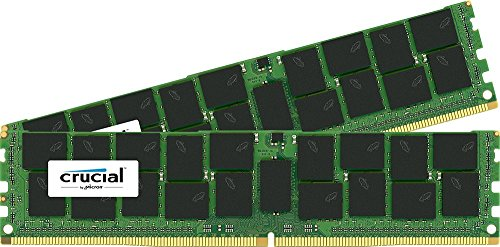 Crucial [Micron製] DDR4 サーバー用メモリー 16GB x2 ECC ( 2133MT/s / PC4-2133 / CL15 / 288pin / DR x4 / Registered DIMM ) 永久保証 CT2K16G4RFD4213
