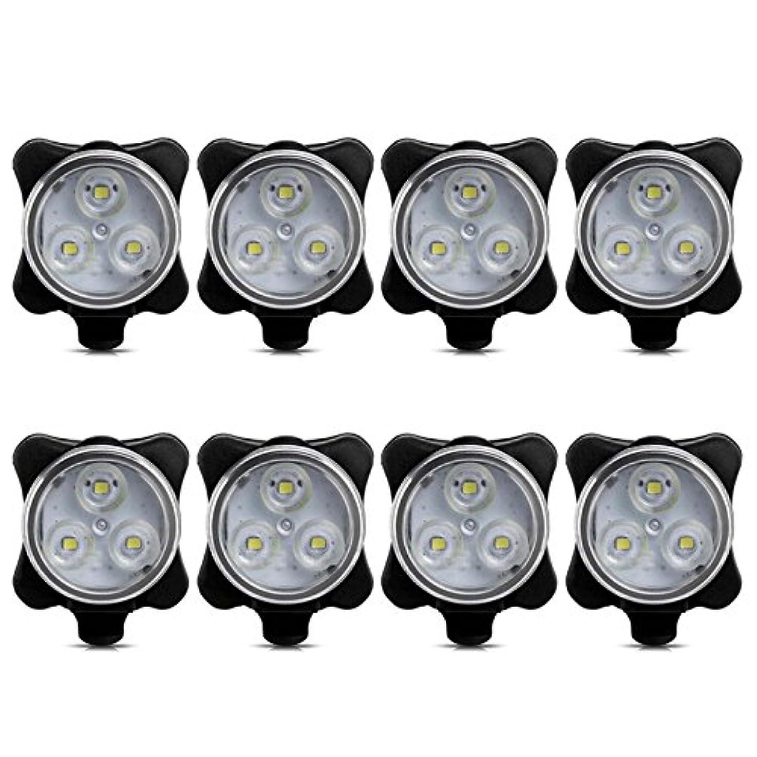 メリー明快型Beautyrain 1個 バイクHJ 030フロントリアライト USB充電式LEDヘッドライトランプ安全警告 MTB BMXマウンテンロードサイクリング用 贈り物