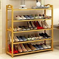 Hyun times 靴ラックソリッドウッド家庭用ダストストレージシューキャビネットバンブーシンプルなマルチレイヤーシューキャビネット ( サイズ さいず : 70*26*90cm )