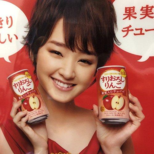 剛力彩芽 クリアファイル Takara CAN CHU-HI すりおろしりんご 果実入りチューハイ