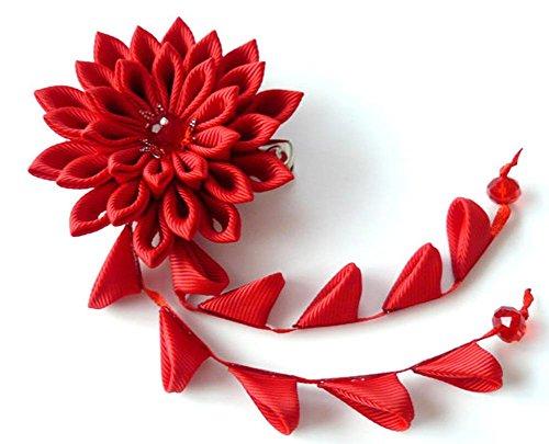 髪飾り 花 和柄 リボン 成人式 振袖 卒業式 袴 着物 和...