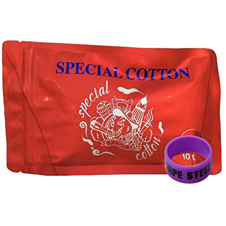 恐れる乱れ透ける韓国製 V.VAPE SPECIAL COTTTON vape 電子タバコ コットン ウィック BANDセット