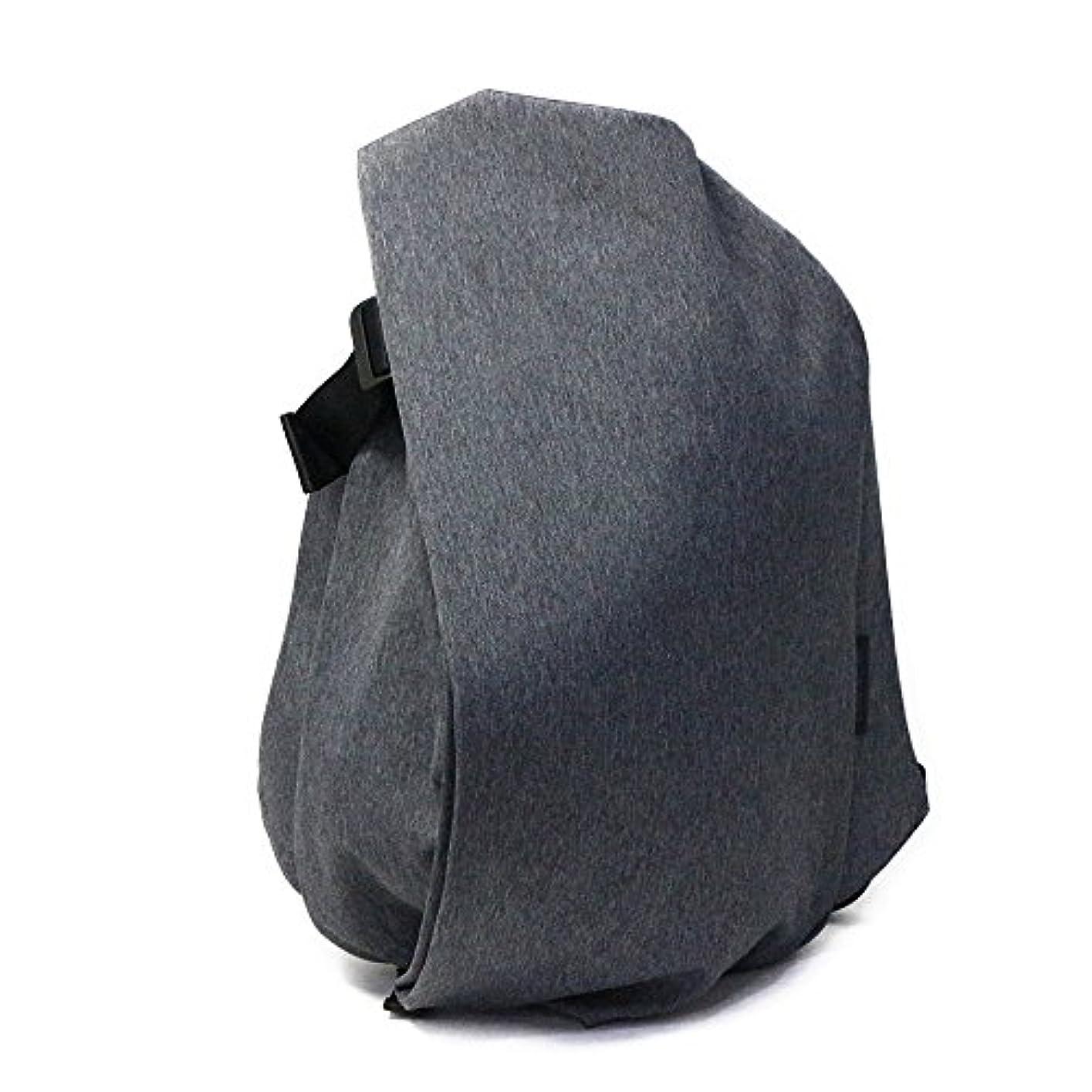 スポークスマン型存在するcote&ciel(コートエシエル) バックパック/リュックサック『ISAR LARGE/ECO YARN』(BLACK MELANGE/ブラックメランジュ)