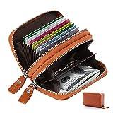 クレジットカードケース TRIPLE 本革メンズ カードケース カード入れ 財布 RFID スキミング防止 じゃばら 大容量 レザー