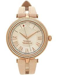 [ヴィヴィアンウエストウッド] 腕時計 レディース Vivienne Westwood VV168SLPK ピンクゴールド シルバー ベージュ [並行輸入品]