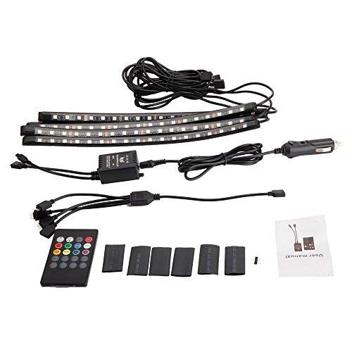 LEDテープライト 車用足元灯 led照明 カー用品 変色 ...