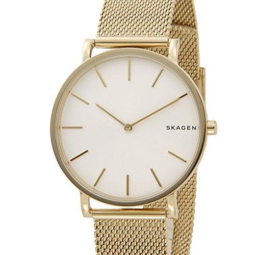 スカーゲンSKAGEN 腕時計 SKW6443 HAGEN ハーゲン スチール・メッシュ ホワイト×ローズゴールド メンズ 時計 並行輸入品