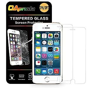 OAproda iphone7/6/6s専用設計保護フィルム強化ガラス4.7inch 0.33mm 2枚セット