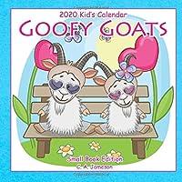 2020 Kid's Calendar: Goofy Goats Small Book Edition