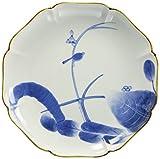 プレート 皿 : 有田焼 古伊万里花鳥 八寸皿
